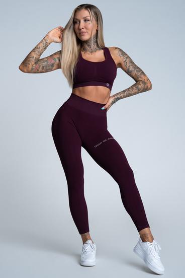 Gym Glamour Leggings Push Up Grape