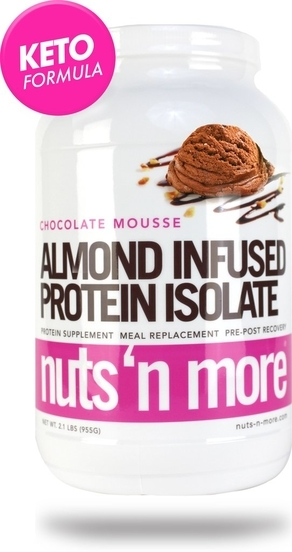 Nuts´n More Protein Isolate Almond Infused Chocolate Mousse