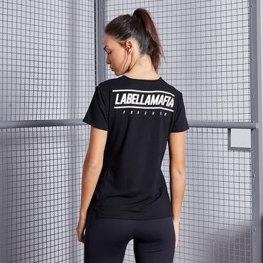 Labella Tričko Black Fitness