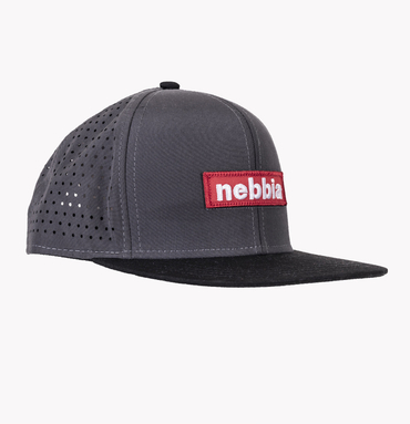 Nebbia Cup 163 Snap Back Red Label Grey