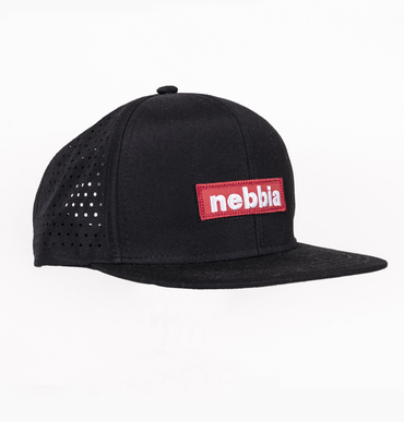 Nebbia Cup 163 Snap Back Red Label Black
