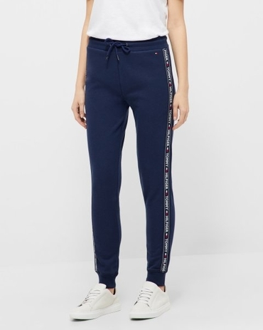 Tommy Hilfiger Cotton Terry Sweatpants Navy
