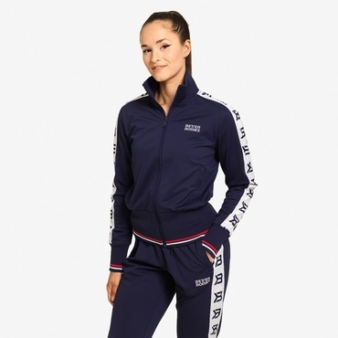 Better Bodies Jacket Chelsea Track Dark Navy