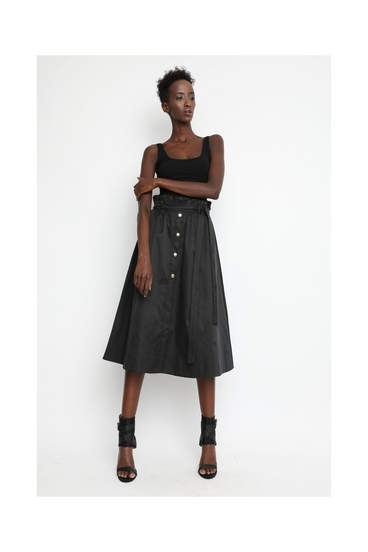Sugarbird Skirt Mada Black