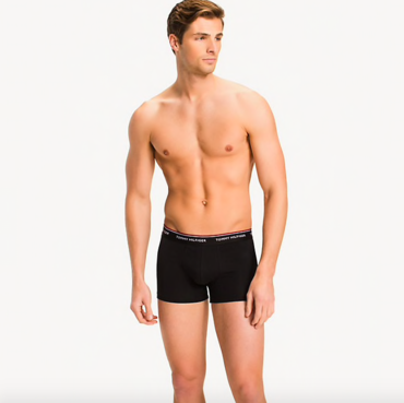 Tommy Hilfiger 3Pack Boxers Shorts Black