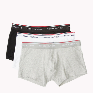 Tommy Hilfiger 3Pack Boxers Shorts Black, Grey&White