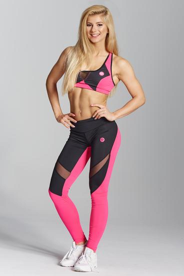 Gym Glamour Leggings Pink Fluo