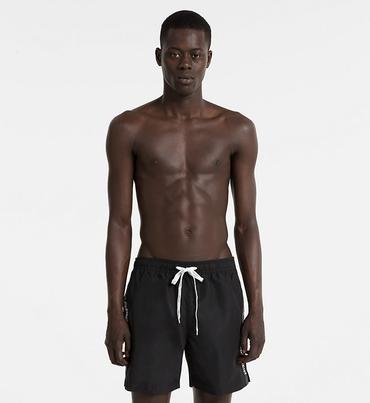 Calvin Klein Plavkové Šortky Černé