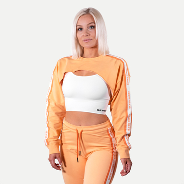 Better Bodies Crop Sweatshirt Chrystie Light Orange