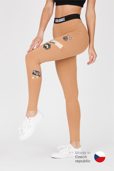 GoldBee Leggings BeOne Latté Laser