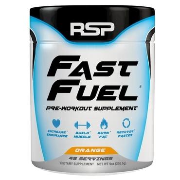 RSP Pre-Workout Fast Fuel - Orange 45 dávek