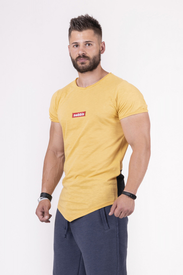 Nebbia T-Shirt 142 Red Label V-Typical Men Yellow