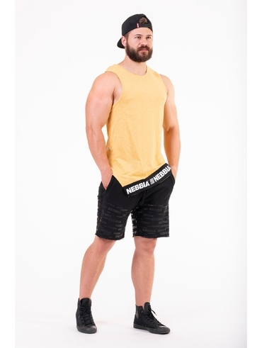Nebbia Vest 141 Be Rebel Men Yellow