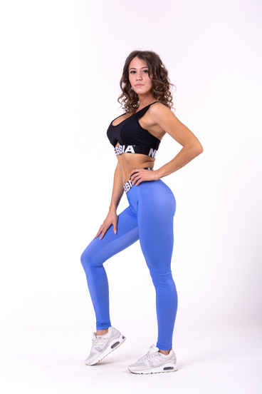Nebbia Leggings 691 Scrunch Butt Blue