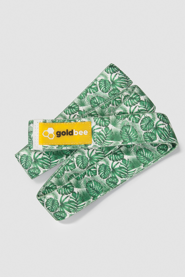 GoldBee Textile Resistance Band Long - Jungle