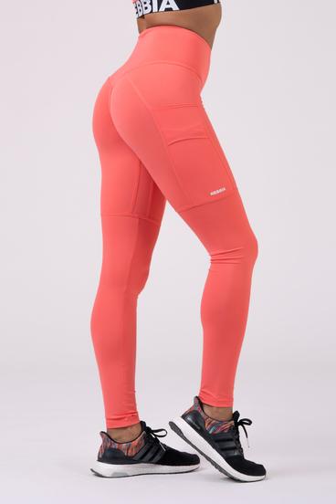 Nebbia Leggings 505 High Waist Fit&Smart - Peach