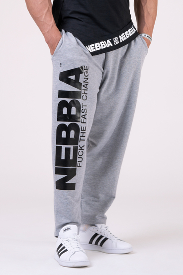 Nebbia Tepláky 186 Beast Mode On - Grey