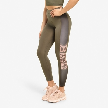 Better Bodies Leggings Chrystie Wash Green
