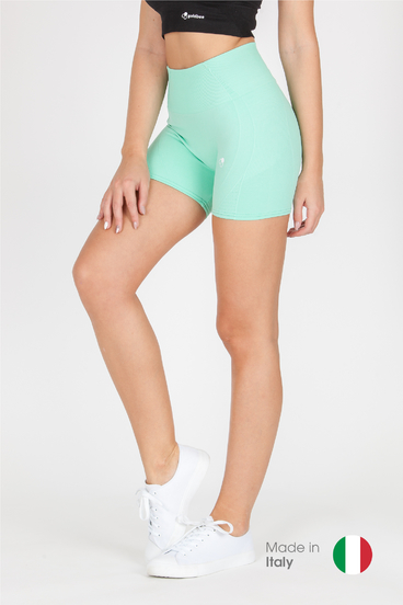GoldBee BeSeamless Mini Shorts Icegreen
