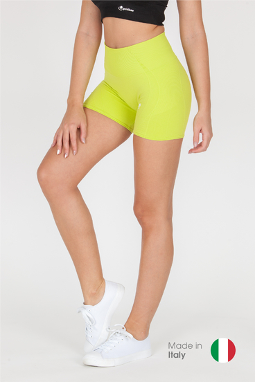 GoldBee BeSeamless Mini Shorts Kiwi Colada