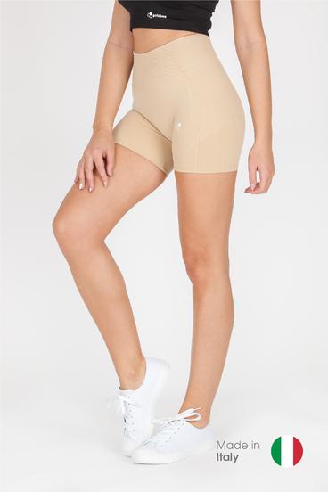 GoldBee BeSeamless Mini Shorts Cappuccino