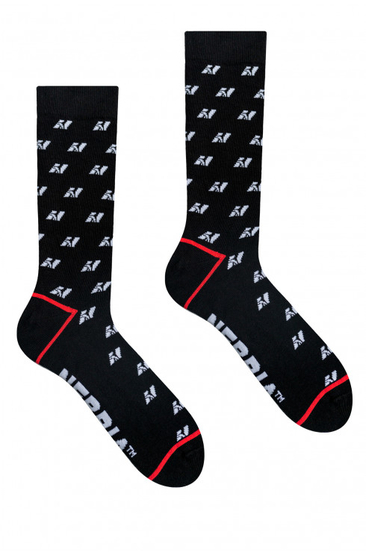 Nebbia N-Pattern High Socks
