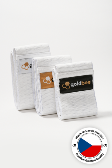 GoldBee Textile Resistance Band - set C | 3 pcs