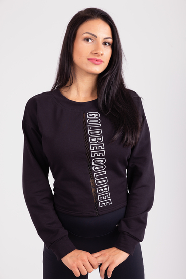 GoldBee Sweatshirt Broadway Black