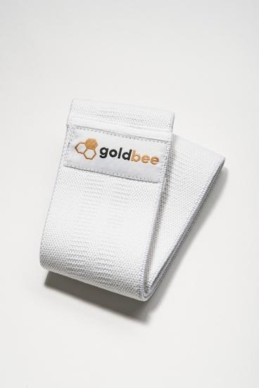 GoldBee Cotton Band - White