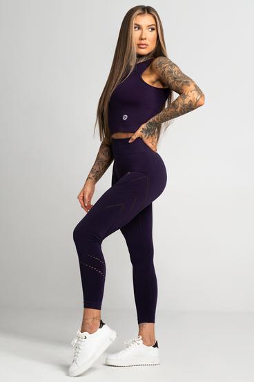 Gym Glamour Leggings Asymmetric Mysterioso