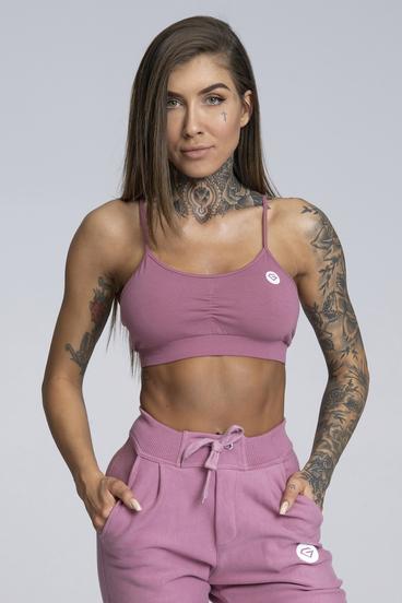 Gym Glamour Bra Simple Dirty Pink