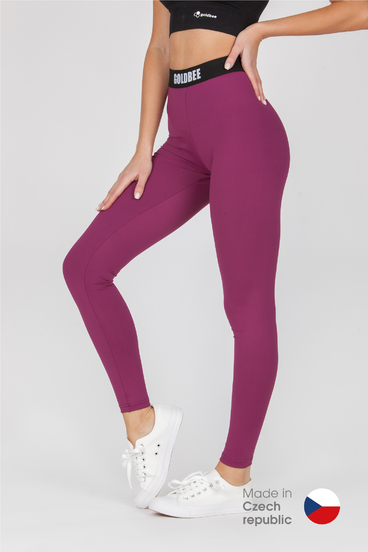 GoldBee Leggings BeOne Wine