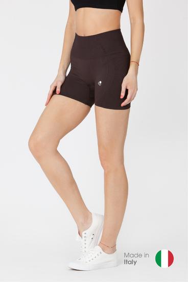 GoldBee BeSeamless Mini Shorts Black Coffee
