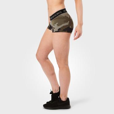 Better Bodies Shorts Fitness Green Camoprint