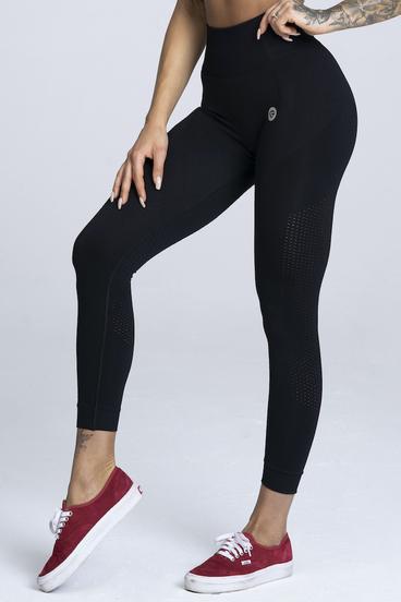 Gym Glamour Leggings Seamless Black