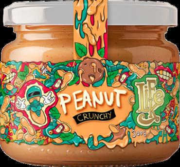 Lifelike Peanut Butter Crunchy - 300g