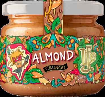 LifeLike Almond Butter Crunchy - 300g