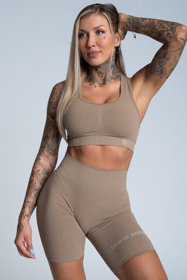 Gym Glamour Bra Push Up Nude