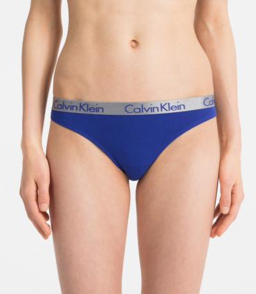 Calvin Klein Tanga Radiant Blue