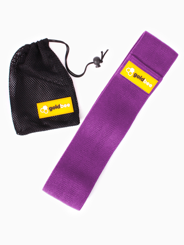 GoldBee Textile Band - Purple