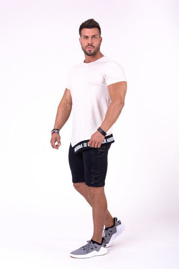Nebbia T-Shirt 140 Be Rebel Men Beige