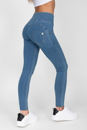 Hugz Light Blue High Waist Denim