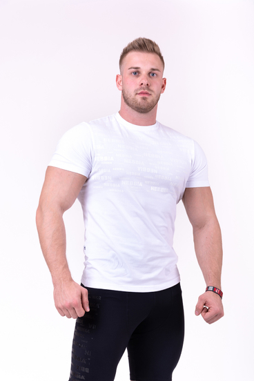 Nebbia T-Shirt 145 More Than Basic Men White