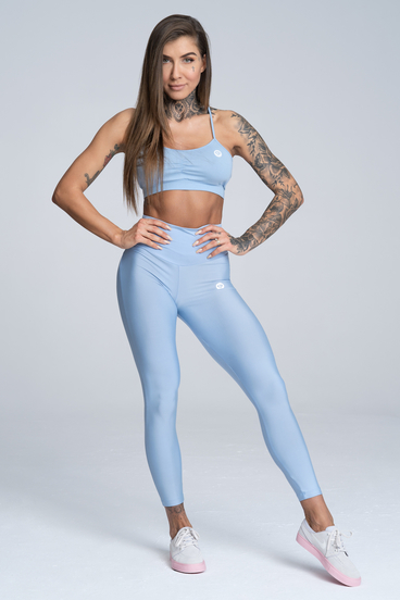 Gym Glamour Leggings High Waist Dream Blue