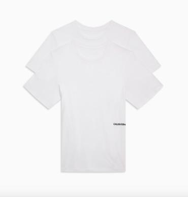 Calvin Klein 2Pack T-Shirts STATEMENT 1981 White
