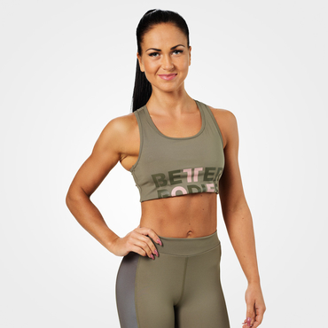 Better Bodies Bra Bowery Sports Washed Green