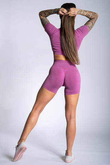 Gym Glamour Shorts Pink Ombre