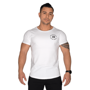 Better Bodies T-shirt Wide Neck Tee White
