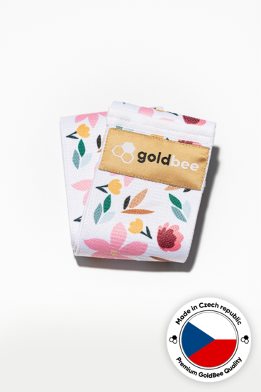 GoldBee Textile Band - Flowers