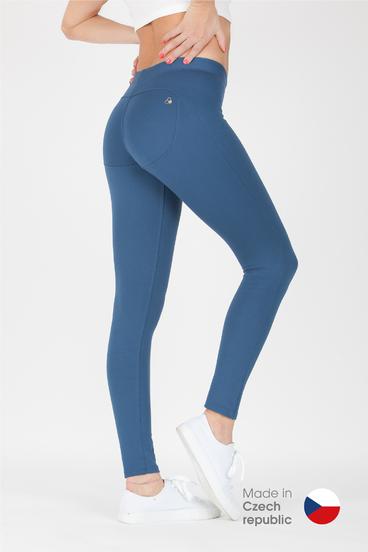 GoldBee Pants BeUp Denim Blue
